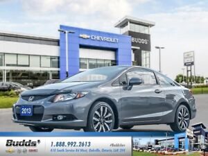 2013 Honda Civic EX-L Navi SAFETY AND RECONDITIONED