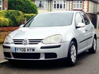 VW GOLF 1.6 DIESEL SE 2006 LOW MILEAGE SERVICE HISTORY MOT CLEAN&TIDY 3 MONTHS WARRANTY