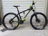 "17"" (Medium) 2015 Saracen Mantra Trail w/ upgrades - Hardtail Mountain Bike - MTB - Bicycle - 650b"