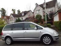 (2005) VW SHARAN 1.9 TDi SPORT 150BHP AUTOMATIC 7 SEATER MPV 1 DR OWNER, FSH, 9 STAMPS, MASSIVE SPEC