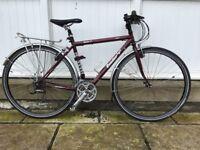 Ladies condor cadet touring bike, small frame, flat bar, shimano deore XT gears