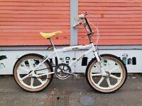 Old school Vintage Classic Aero Super Action BMX Bike Bicycle Good Condition