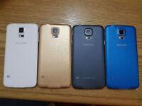 Samsung galaxy S5 G900F - 16GB - 4G Unlocked Smartphone all colours1