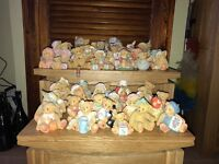 A box of mixed variety Cherished Teddies.