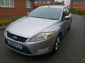 2009(58)Plate Ford Mondeo Zectec TDCI 1.8 LOW Mileage at 85k with Cruise Control