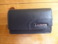 Leather Panasonic Lumix Camera Case.