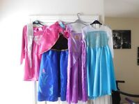 GIRLS FROZEN ,ANA ELSA DRESSES
