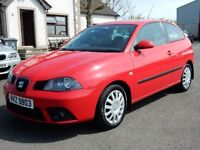 2006 Seat ibiza 1.4 petrol with only 16000 miles, full seat main dealer service history