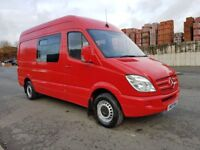 2009/09 MERCEDES SPRINTER 311 CDI MWB 6 SPEED MANUAL 110BHP CREW CAB VAN RUNS AND DRIVES VERY GOOD