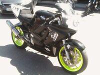 CBR600F3 TRACK BIKE RACE BIKE CBR 600 STEEL FRAME WOW