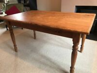 Pine Kitchen / Dining Table Seats 6 people