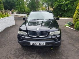 My BMW X5 for sale as a van required for work therefore a cash only sale thanks.