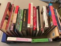 Box of cookery books