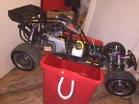 Rc Yama 26cc petrol two-stroke buggy