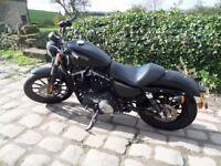 2011 Harley Davidson XL 883 N Iron Sportster in Denim Black