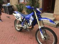 Yamaha WR450F road legal