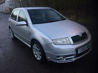 **SKODA FABIA VRS 2006 ONLY 88,000 MILES GREAT CONDITION WITH MANY EXTRAS**