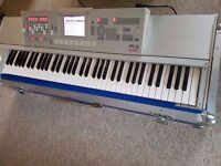 Korg M3 73 keys with EXB-M256 memory expansion, hard flight case, upgraded screen