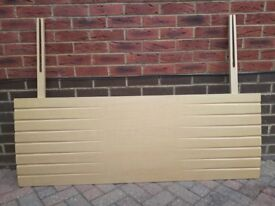 Solid Beech Kingsize Headboard