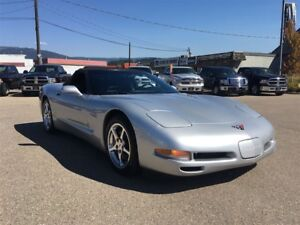 2001 Chevrolet Corvette Convertible, Leather, Manual Transmissio