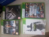 4 Games for XBox 360
