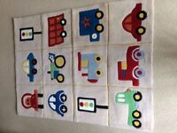 Vehicles & traffic lights rug in good condition
