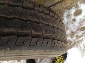 215 75 16c transit wheel and tyre