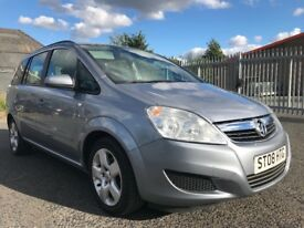 Vauxhall Zafira 1.6 i 16v Exclusiv 2008 ✿ Full MOT ✿ 1 Month Warranty ✿
