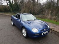 MG Convertible 2 seater with hard top inc.