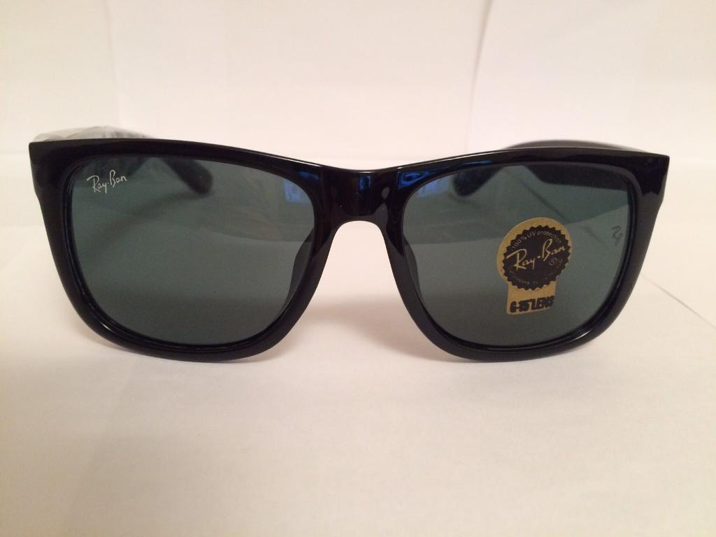 Ray Ban Justin Sunglasses RB4165 (gloss black)