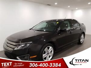 2011 Ford Fusion Sport|AWD|Auto|Sunroof|Leather|PST Paid