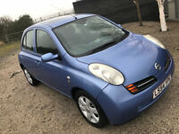 2004 54 plate Nissan Micra Diesel - Se Dci - FULLY LOADED - Keyless Entry Air Con . £30 a year tax