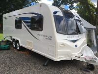 Top of range Bailey Pegasus GT65 6 berth& fixed bed