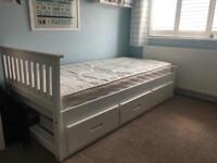 Single Bed with drawers for sale