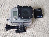 GoPro Hero3 - Black Edition - 12MP (1080P) HD Digital Camcorder plus Accessories