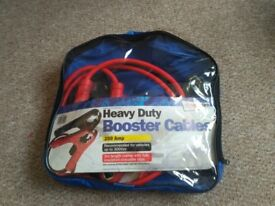 HEAVY DUTY BOOSTER CABLES 250 Amp 2m