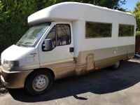 LAIKA ECOVIP 7R 4 BERTH HIGH QUALITY BUILD 1 PREV OWNER FULL SERVICE HISTORY LOTS OF EXTRAS