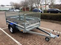 Brand new Faro Tractus 2,63cm side 35 cm car box trailer 750kg with mesh side