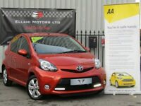 Toyota Aygo 1.0 VVT-i Fire 5dr, Ideal First Car +Aux+ Long Mot