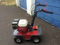GARDEN MASTER TURF CUTTER REFURBISHED WITH HONDA GX160 ENGINE LOTS OF NEW PARTS