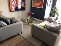 IKEA Morum machine-woven large beige / natural colour rug