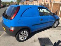 Corsa derived van 1.7 diesel. £1000ono. Fiesta van. Connect combo bipper