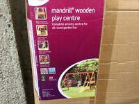 Premier Plum Mandrill Wooden Play Centre