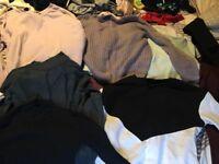 Job lot of size 10 clothes