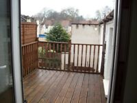 LET PENDING REFERENCES - Well Presented Unfurnished 2 Bedroom First Floor Flat with Balcony