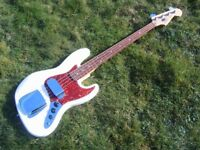 Fender 60th Anniversary Jazz Bass Guitar. Mint Condition.