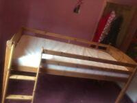 Single bed - mid sleeper