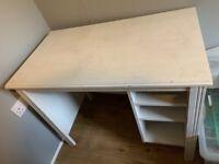 White IKEA desk FREE