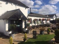 Chef De Partie with accommodation wanted at busy canal side fresh food pub.