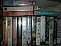 Videos (VHS) - 19 Assorted Films